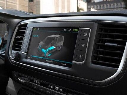 NOUVEAU Peugeot e-Expert – Ecran tactile 3D