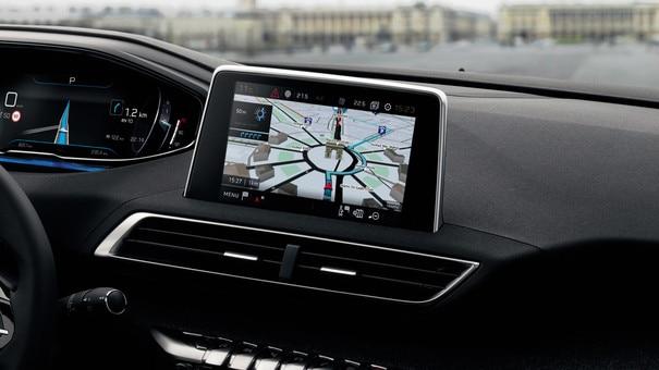 """Nouveau SUV PEUGEOT 5008 : Écran tactile capacitif 8"""""""
