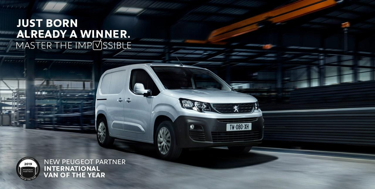 Nouveau PEUGEOT PARTNER : International Van Of The Year 2019